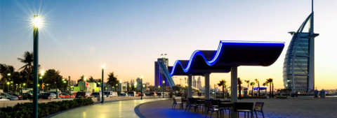 BMTC installs state-of-the-art street lighting solutions in Jumeirah Corniche Development project